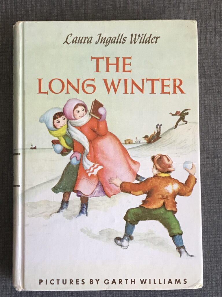 The Long Winter hardcover vintage