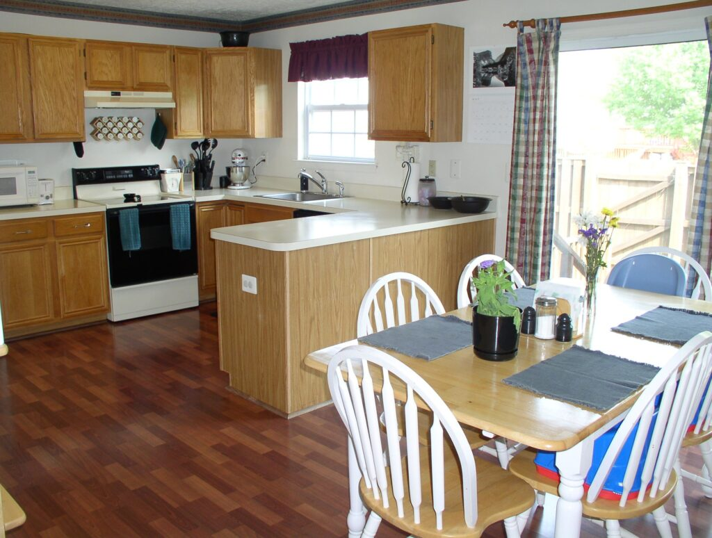 Kristen's townhouse kitchen