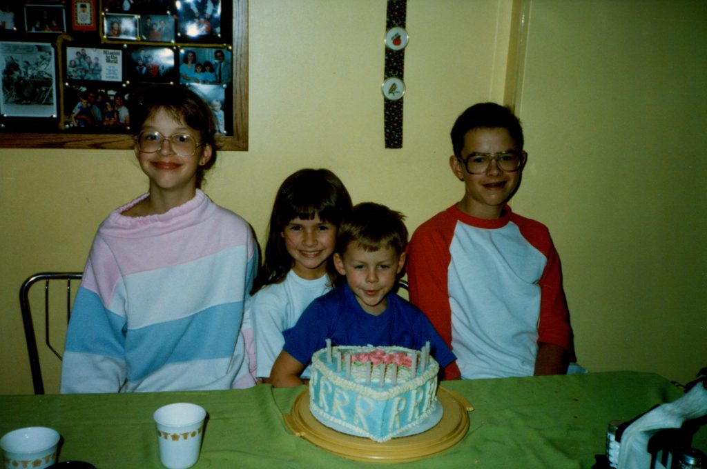 Kristen and her siblings