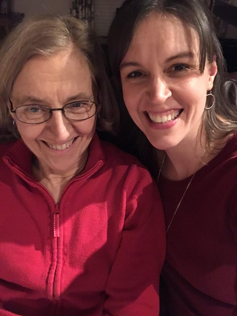 Kristen and her mom