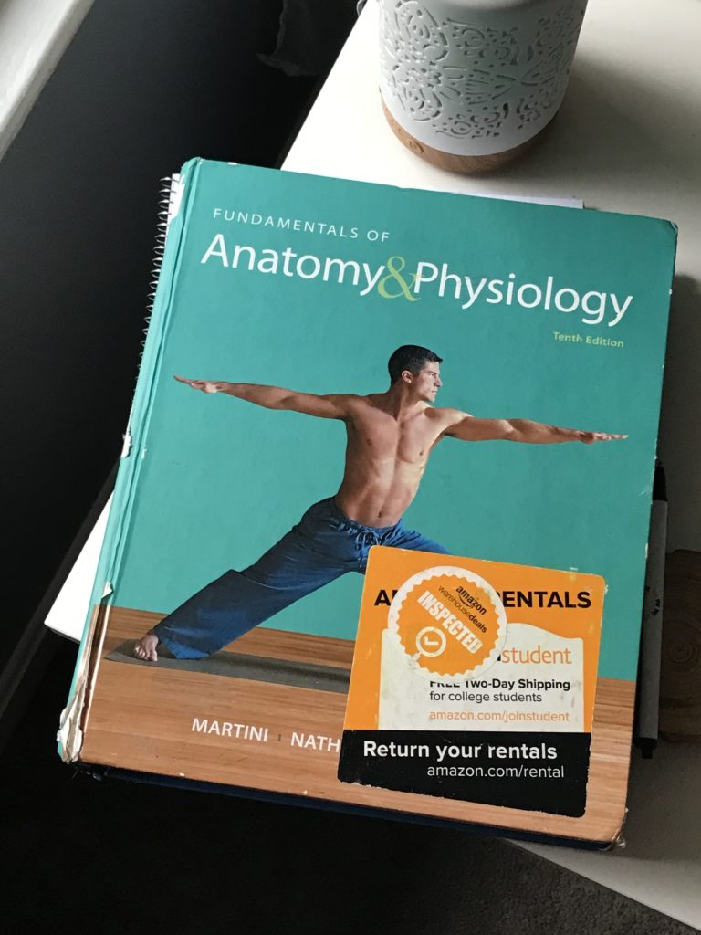 Anatomy and Physiology textbook.